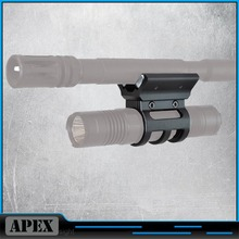 """Strong Magnetic X Weapon Mount for 30mm or 1"""" Flashlights Torch Bracket Scope Gun Mount HuntingAccessory"""