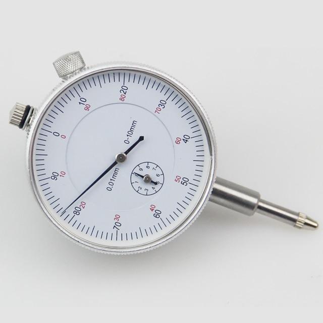 Precision 0 01mm Dial Indicator Gauge 0 10mm Meter Precise 0 01mm Resolution Indicator Gauge