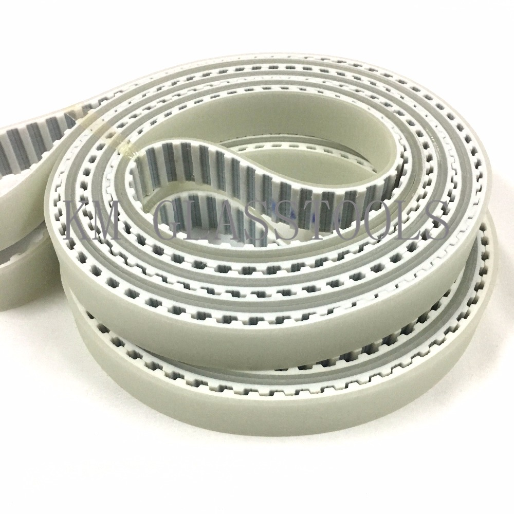 Top Quality Timing Belts For SXM371P SUNTECH Glass Straight Line Bevelling machine Contains DHL shipping