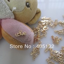 MP-3D 50 pz/borsa Amore Forma Metallo Piccoli Pendenti Gioielli Accessori Nail Art Deco Charms In Metallo(China)