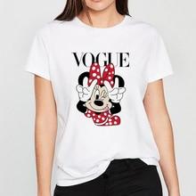FIXSYS Summer Women Harajuku T Shirt White Kawaii Tops Graphic Tee Causal T-shirt Short Sleeve Female Cartoon T-shirts