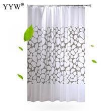 1pc Waterproof Big Bathroom Curtains Peva Shower Curtain Bath Screens 3d Large