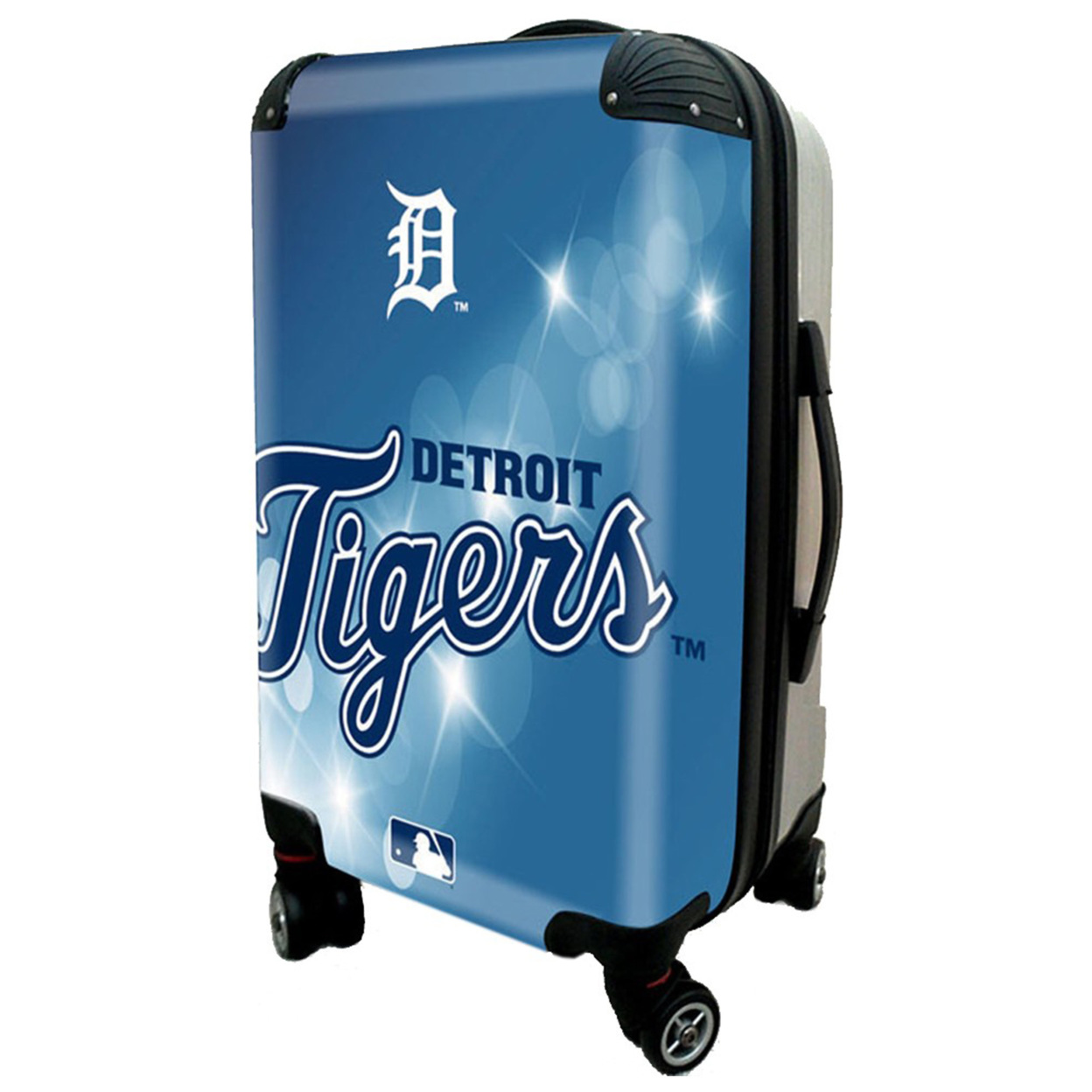 Detroit Tigers, 21 Clear Poly Carry-On Luggage by Kaybull #DET9 detroit tigers at toronto blue jays