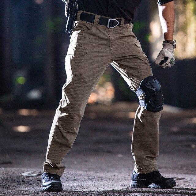 M3 Militar Gear étanche Telfon Rip-stop pantalons tactiques hommes SWAT en plein air Cargo armée pantalon randonnée coton militaire pantalon