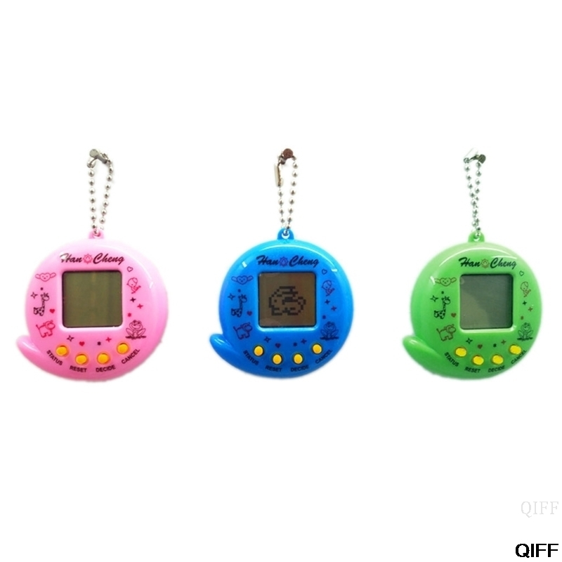 Drop Ship&Wholesale New 90S Nostalgic 168 Pets In 1 Virtual Cyber Pet Toy Tamagotchis Electronic Pet May06