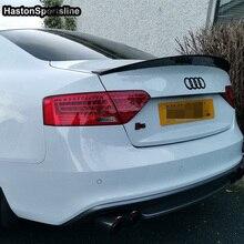A5 S5 HK Стиль углеродного волокна задний спойлер крыло для Audi S5 2 двери 2008