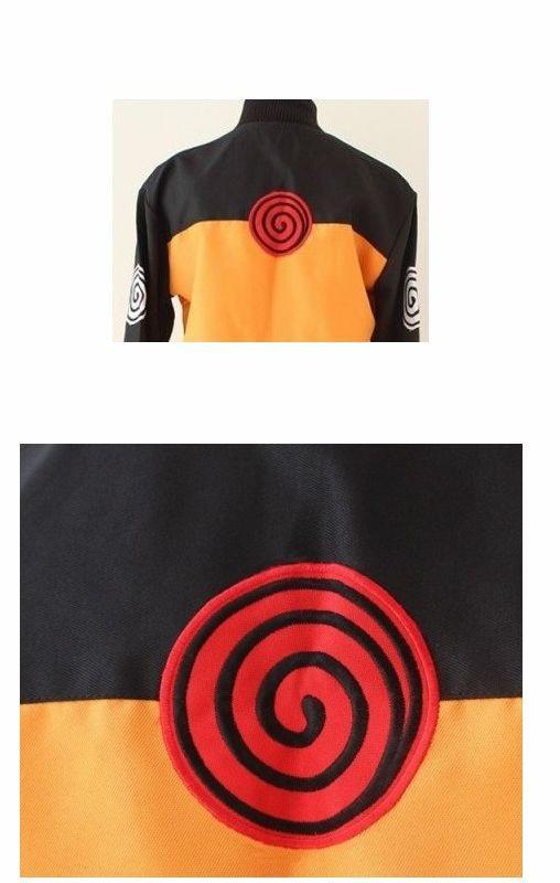Uzumaki Naruto Cosplay Costume