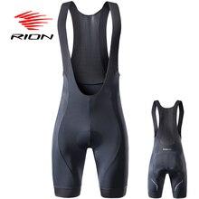 RION/высококачественные классические шорты на лямках для гонок, велосипедная нижняя часть, Ropa Ciclismo, велосипедные штаны, 5R гелевые накладки, Силиконовые захваты для ног, шорты на лямках