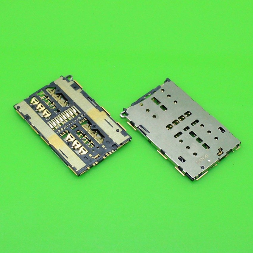 2 pcs Replacement Parts New Brand Socket For Huawei honor 7 PLK-TL00 PLK-TL01 Sim Card Reader Holder Tray Slot+
