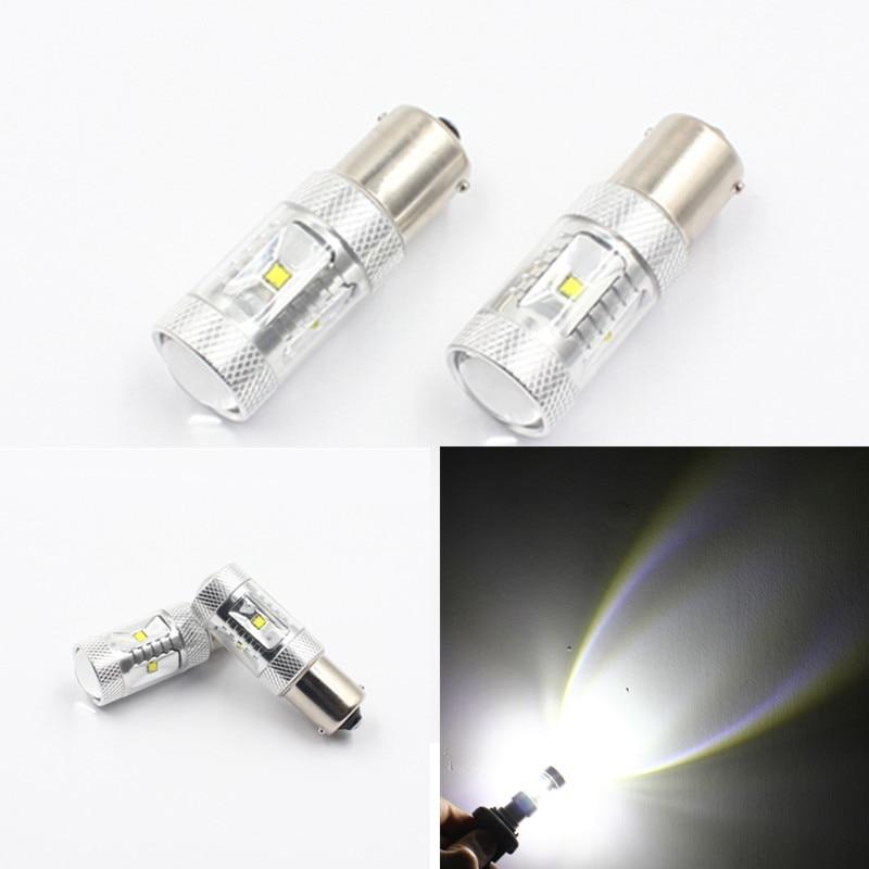 Fsylx 2 шт. 30 Вт 1600lm S25 1156 BA15S canbus светодиодные лампы P21W светодиод для автомобиля резервного копирования свет фонаря заднего хода DC 9-32 В