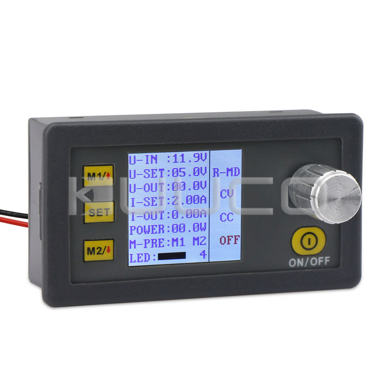 Digital Multimeter DC 4.5~23V to 0V~20.0V 2A 40W Adjustable Voltage Regulator/ Multifunction Meter/CC-CV Converter/CNC Adapter стоимость