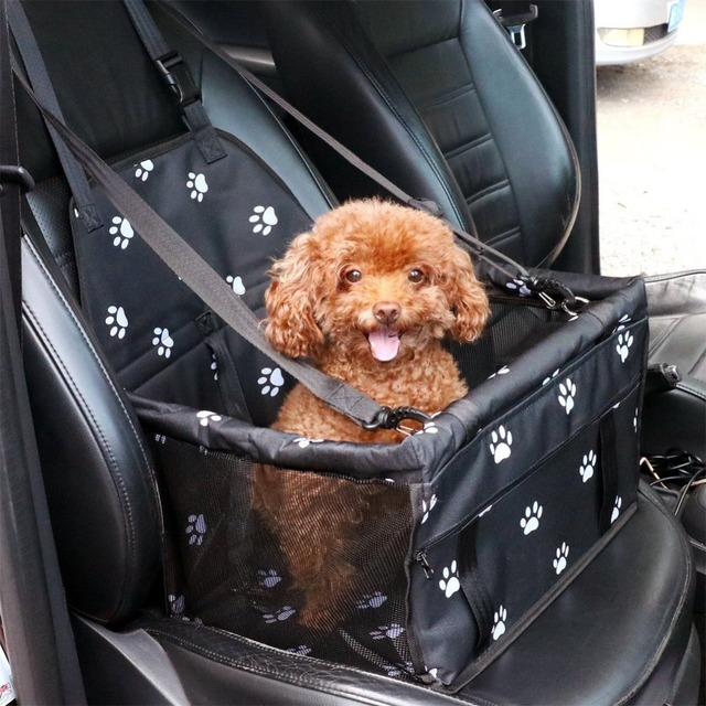 Pet carrier breathable dog car seat cover waterproof car blanket anti-collapse pet cushion dog hammock car travel pet seat cover