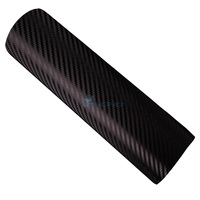 1.52*10m Self Adhesive Vinyl Roll Air Bubble Film Roll for Car Used 3d Carbon Fiber Wrap