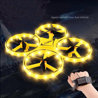 Novel design gesture control RC drone Quadcopter toys Infrared induction flyer Toys for children Xmas Birthday gifts