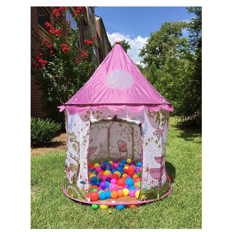Protable Children Toy Tents Baby Princess Castle Play Tent with Tunnel and Pink Girls Play house Fairy Game Kids Ball Pool-in Toy Tents from Toys u0026 Hobbies ...  sc 1 st  AliExpress.com & Protable Children Toy Tents Baby Princess Castle Play Tent with ...