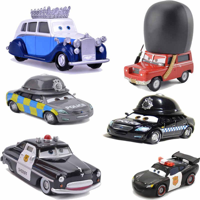 צעצועי דיסני פיקסאר מכוניות 2 3 לייטנינג מקווין ג 'קסון קרוז כבד משאית פרנק מקצרה משמר מלכותי כל שילוב ילדים צעצוע רכב
