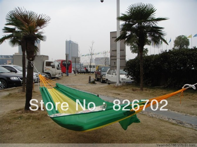 Wholesale outdoor camping hammock with a bag large spot Ultralight High quality 200X140CM