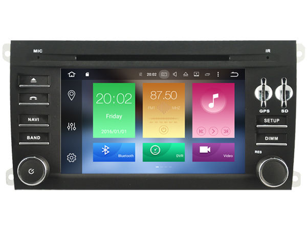 Android 6.0 CAR Audio DVD player FOR PORSCHE CAYENNE 2006-2010 gps Multimedia head device unit receiver BT WIFI
