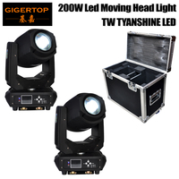 Pro DJ ATA Amp Rack Flight Road Travel Case For 200W Spot Led Moving Head Light