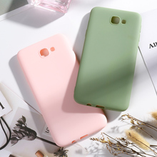 SFor Samsung Galaxy J7 Prime J2 Pro 2018 Cases Candy Color Cover for Samsung J4 Plus Core J7 Max Duo J6 plus J8 2018 Capa Bumper