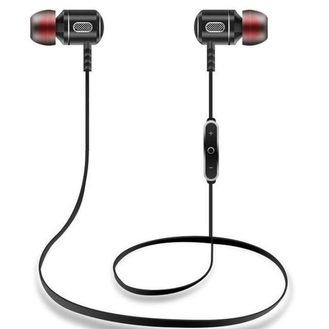 GDLYL Inteligente Bluetooth Deporte Auricular Inalámbrico Bluetooth 4.1 Auriculares de Música Estéreo En la Oreja Con Micrófono Headsfree