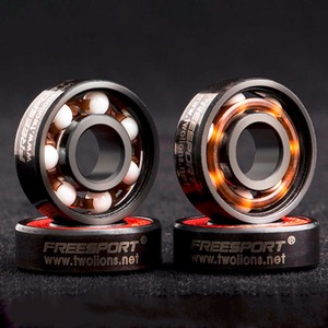 Image 2 - FreeSport 608 Hybrid Ceramic Bearing ABEC 9 inline Skate Bearings FreeLine Skate Skateboard LongBoard HandSpinner Rodamientos
