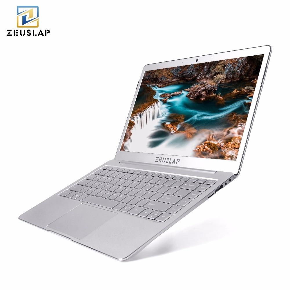 все цены на ZEUSLAP 13.3inch Ultrathin 8GB Ram 128GB SSD Gemini Lake Quad Core CPU Windows 10 System 1920*1080P Full HD Laptop Notebook онлайн