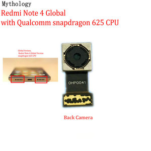 Image 3 - Mitologia dla Xiaomi Redmi Note 4 4X globalna wersja MTK duży aparat z tyłu moduł telefon komórkowy tylny przewód do aparatu wymiana kabla