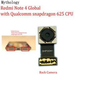 Image 3 - מיתולוגיה עבור Xiaomi Redmi הערה 4 4X הגלובלי MTK גרסה גדולה חזור מודול טלפון נייד אחורי מצלמה להגמיש כבל החלפה