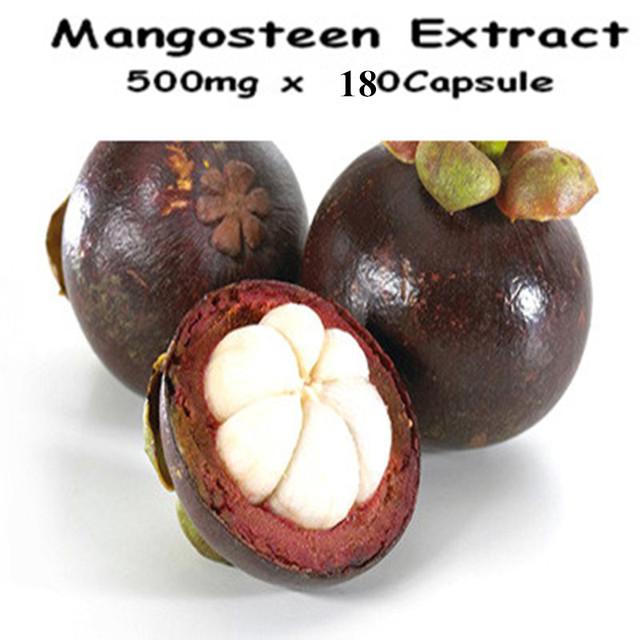 1 Paquete de Mangostán Extracto de la Cápsula de 500 mg x 180 Conteos envío libre