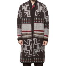 jacket men 2018 Parka Autumn Winter Warm OutwearMen Winter Casual Jacket Warm Printed Long Smart Outwear