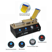 Semi automatic OCA film laminating machine with built in vacuum pump