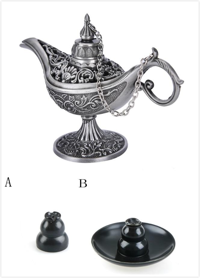 1 Pcs Antiken Stil Retro Vintage Und Gothic Geschenk Zinn Legierung Weihrauch Brenner Für Kinder Dekoration