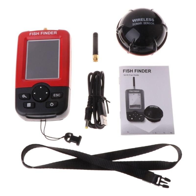 New 2 Modes Fish Finder Remote Sonar Sensor 125KHz Wireless Sounder Rechargeable  6 Depth RangeNew 2 Modes Fish Finder Remote Sonar Sensor 125KHz Wireless Sounder Rechargeable  6 Depth Range