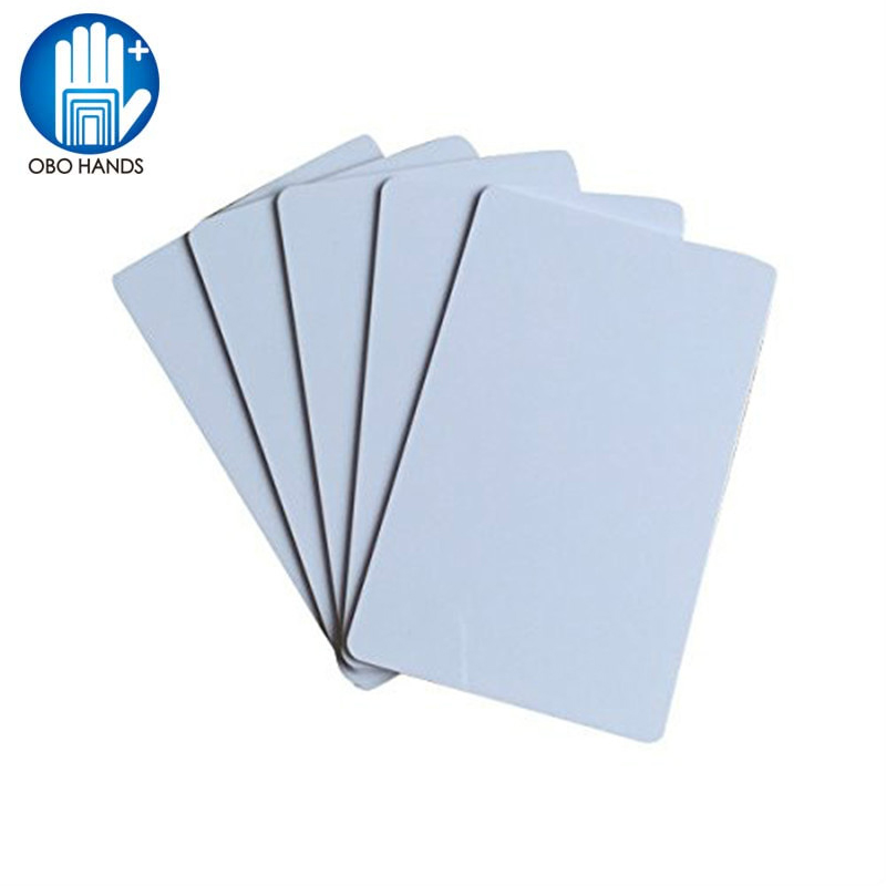 OBO HANDS ISO14443 Blank White PVC ISO14443A NFC Card NXP NTAG216 rfid Card for All NFC Mobile Phone - 10pcs/lot 10pcs fm1108 contactless ic card blank white pvc card factory sales m1 card