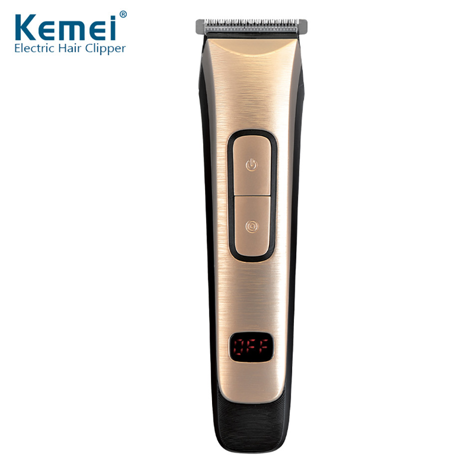 Kemei KM-236 Fashion Electric Rechargeable Hair Clipper Hair Trimmer High Quality Styling Tools Men/women Personal Hair Care Kit high tech and fashion electric product shell plastic mold