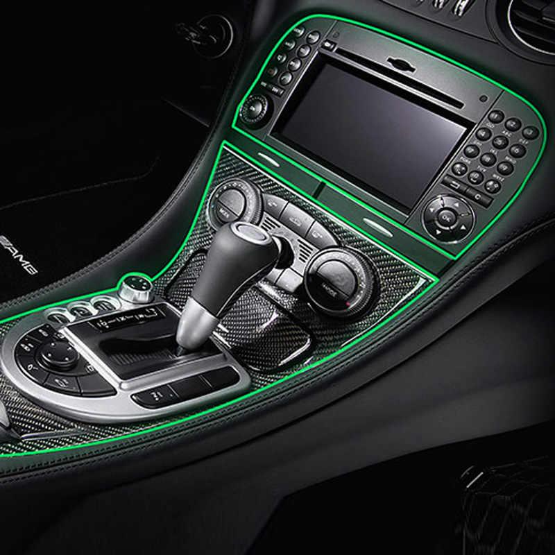 Vtear Mobil Styling Moulding Trim Strip Dekoratif Thread Interior untuk Hyundai Creta IX25 Ix35 Toyota C-HR CHR RAV4 Aksesoris