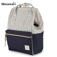 Himawari אופנה תרמילי בית ספר לנערות קלאסי נסיעות תרמיל מחשב נייד נשים כתף תיק הסטודנטיאלי ילקוטי Bolsa