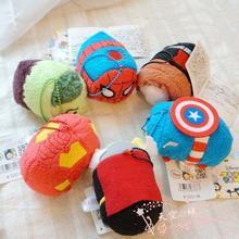 Tsum Tsum Marvel Plush doll Iron Man Spiderman Thor Captain America Tsum Tsum mini doll Collection Cute Soft Toys for gifts