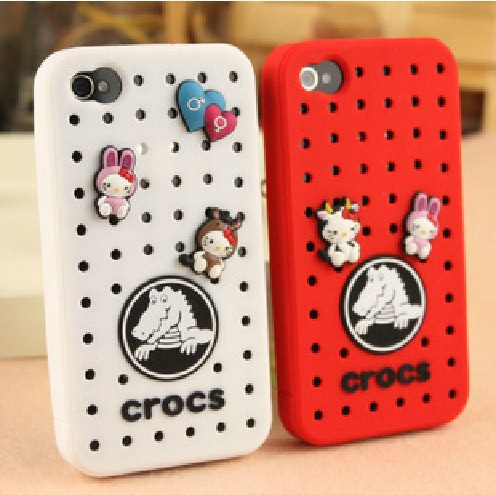 best service a13b7 0210b US $8.52 |crocs shoes cover for iPhone 4 4s case crocs For iPhone 4s shell  free shipping (Factory Direct)+Support wholesale on Aliexpress.com | ...