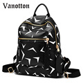 2016 Fashion Design PU Leather Women Backpack Casual School Bags for Teenagers Girls High Quality Travel Bag Students Bookbag