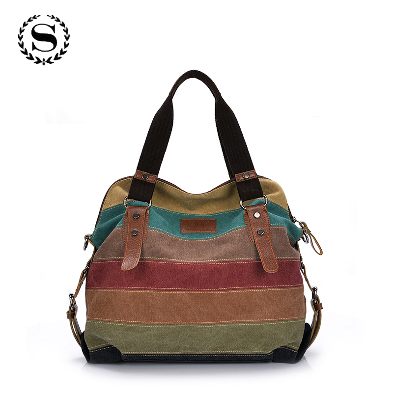 2017 hot women patchwork handbag female canvas shoulder messenger bags casual shopping tote bolsas femininas de ombro ZZ360 women handbag shoulder bag messenger bag casual colorful canvas crossbody bags for girl student waterproof nylon laptop tote