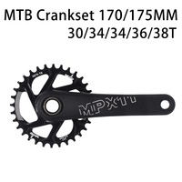 170/175mm MTB Crankset crank Chainwheel 30/32/34/36/38T 7075 CNC Alu Narrow Wide Chainring For GXP XX1 X9 XO X01