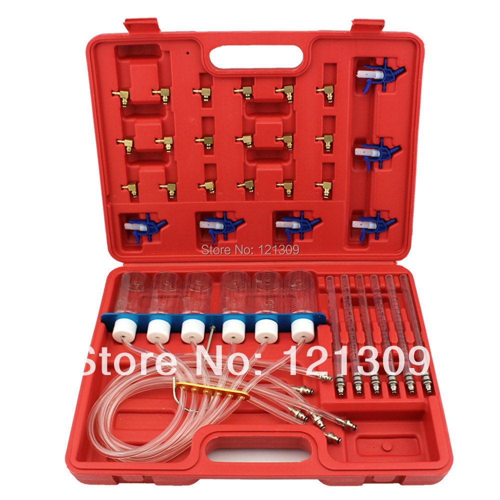 Diesel injector flow testing kit common rail automotive tools