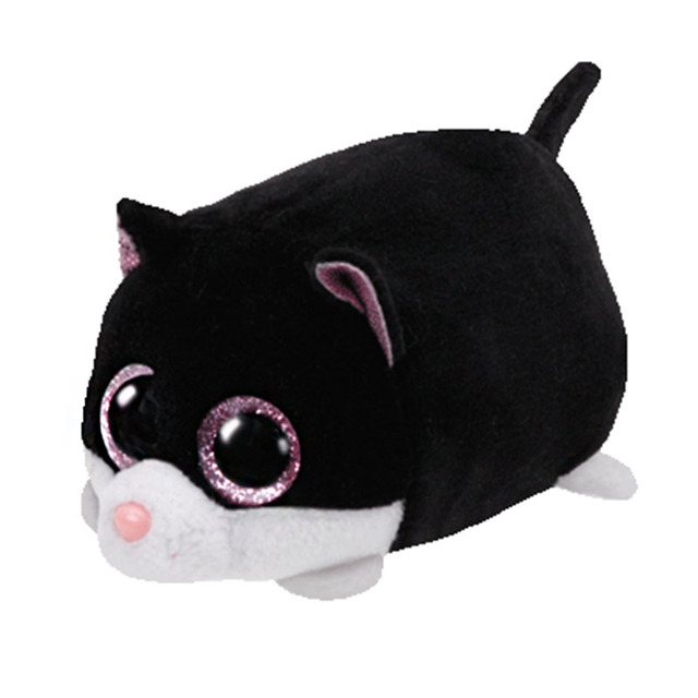 d8522c68bf1 2018 New Tsum Tsum Teeny Tys Cara Black Cat Plush Toy 10cm Stuffed Animal  Doll Cute Birthday gift Kids Toy Mini Soft