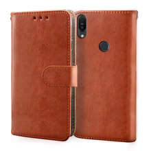 Luxury Leather Flip Case For ASUS ZenFone Max M1 M2 Pro Wallet Card Stand leather and silicone Cover for ZB602KL