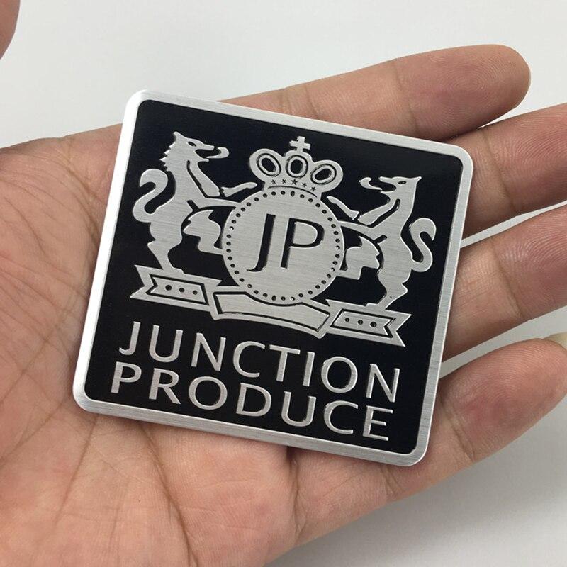 1 шт. JP Junction логотип автомобиля стикер VIP Эмблема значок наклейка для Mercedes BMW Audi Ford Volkswagen Nissan Toyota Chevrolet
