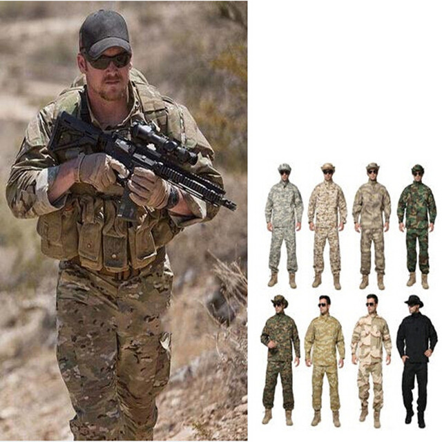multicam uniform acu camouflage clothing suits for hunting fishing