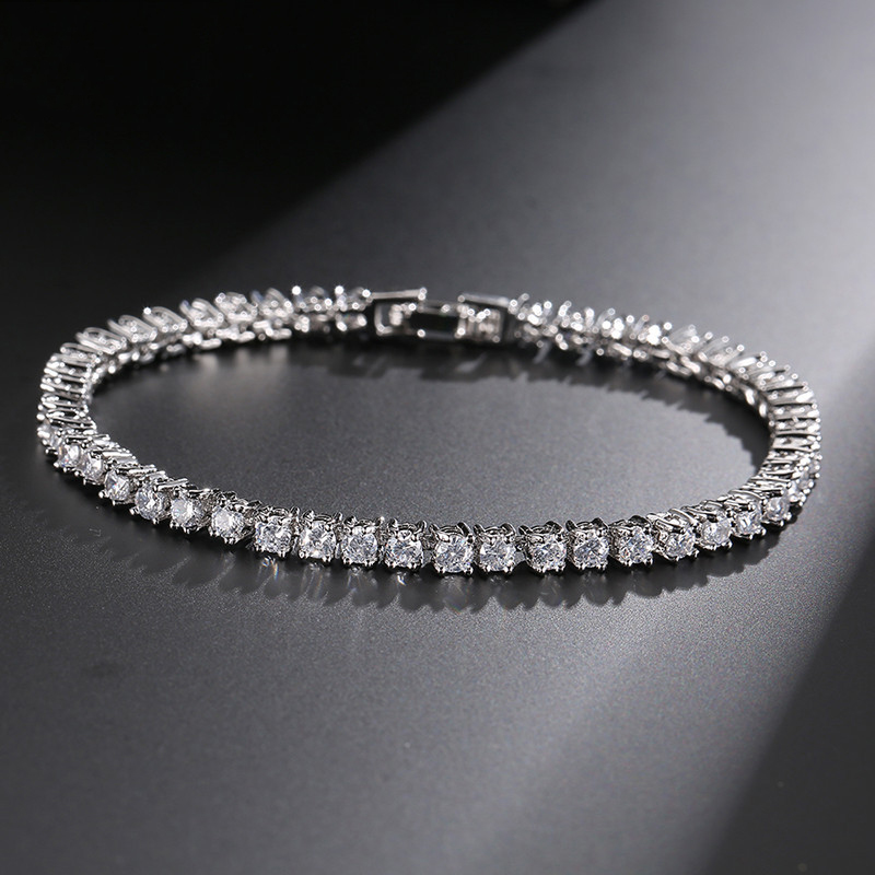 Gold Silver Color 3mm Cubic...