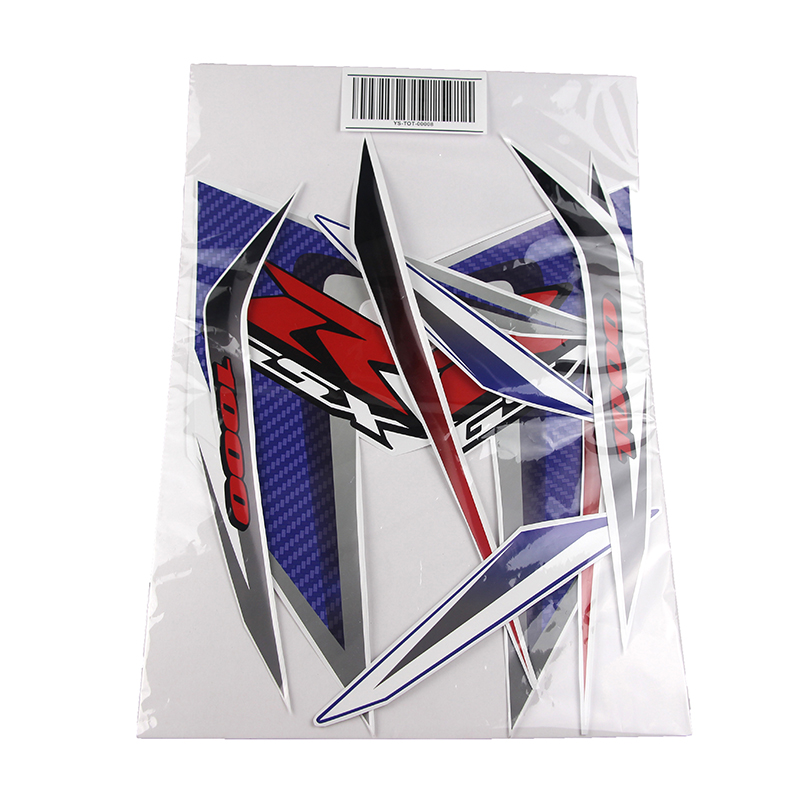 Kodaskin Motorcycle Fairing Emblem Sticker Decal for GSXR1000 K7 K8 2007 2008 in Decals Stickers from Automobiles Motorcycles